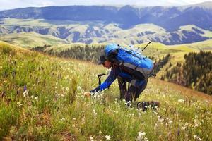 vandrare i bergen