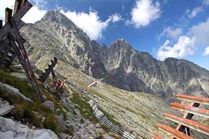 peak lomnicky stit, slovakien foto