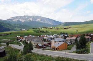 crested butte - mountain community foto