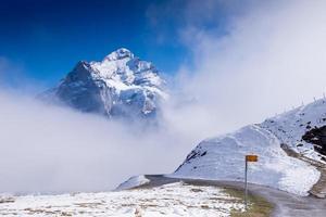 första berg Grindelwald Schweiz
