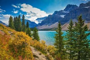 Banff nationalpark i de kanadensiska klipporna