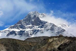 karakoram bergskedja, himalaya i Pakistan foto