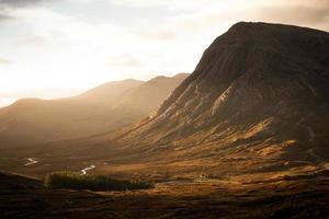 glencoe vallery soluppgång foto