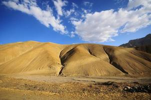 bergskedja, leh, ladakh, indien foto