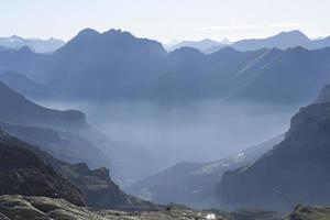 berg Schweiz på bearentrek foto