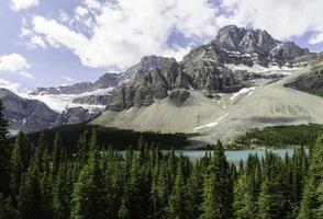 berg i banff np foto