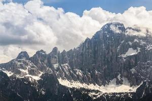 Italien - dolomiterna foto