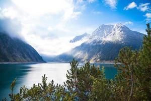 zillertal berg i Österrike foto