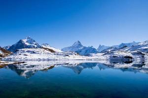 första berg Grindelwald Schweiz foto