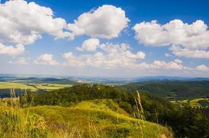 panorama över Sudetenland