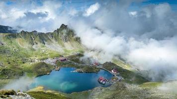 fagaras berg, rumänien. Transsylvanien regionen.