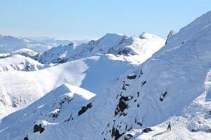 snöiga låga tatras, slovakien foto
