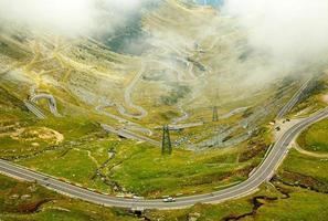 transfagarasan bergsväg, rumänska karpater