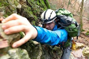 klättring berg foto