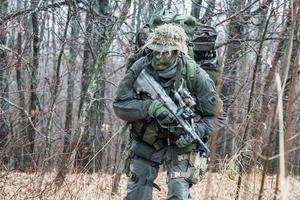 jagdkommando soldat foto