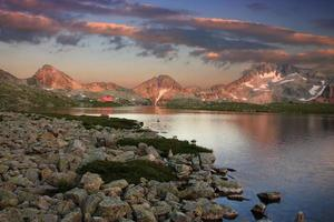 tevno sjö - Pirinberget - Bulgarien foto