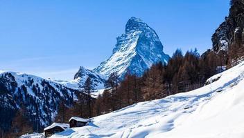 materiahorn, schweiziska alperna foto