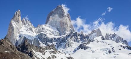 fitz roy bergskedja, argentina foto