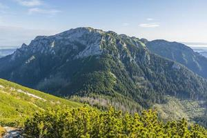 framstående toppen av västra tatrar foto