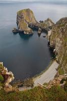 kust nära glencolumbkille, Irland. foto