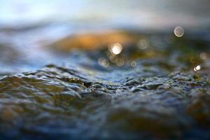 konsistensvatten för makro foto