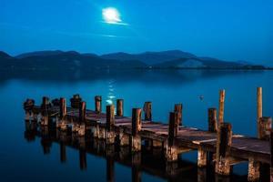 piren vid sjön massaciuccoli foto