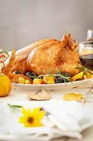 Thanksgiving middag foto