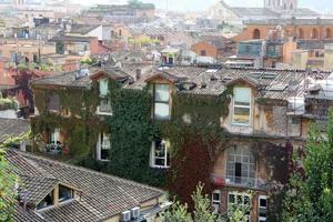 gamla hus, kalabrien, södra Italien foto