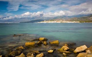 saint florent på norra Korsika foto