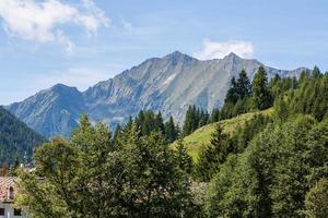 val d'ayas, alpi, valle d'aosta, italia foto