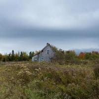 övergiven hus hwy 6 nova scotia foto