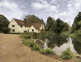 Willy Lotts hus och Flatford Mill