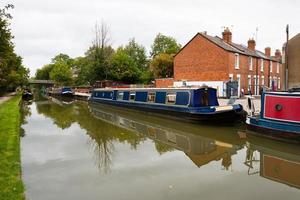 oxford-kanalen. Storbritannien foto
