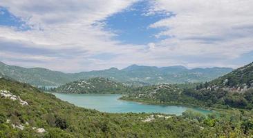bacina sjöar, dalmatien, kroatien foto