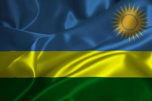 rwandas flagga