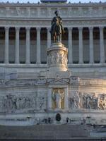 monument till Vittorio Emanuele II, Rom foto