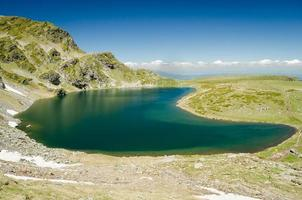 bulgarien, sju rila sjöar foto