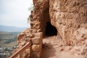 forntida ruiner i israel foto