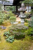 zen trädgård foto