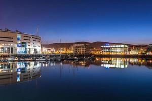 vackra belfast stad, norra irland, Storbritannien foto