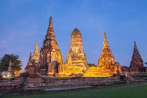 ayutthaya historiska parken Thailand