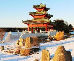 kinesisk pagod foto