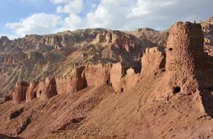 shahr-e nau gammalt fort, afghanistan