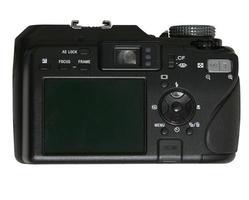 tillbaka kameran foto