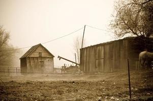 gammal gård
