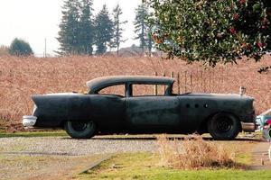 restaurering av vintage bilprojekt foto