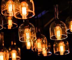 dekorativ belysning. foto