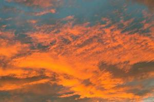 röd himmel