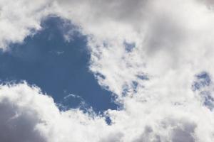 blå himmel bakgrund foto