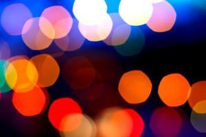 vackra bokehljus foto